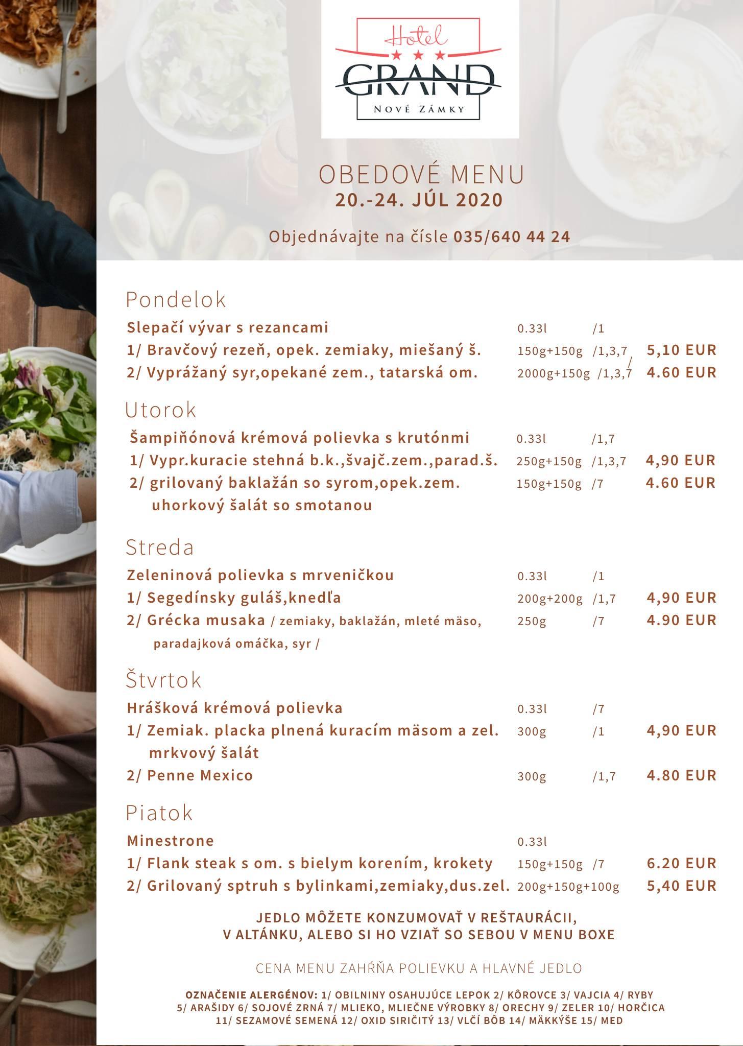 Denné menu